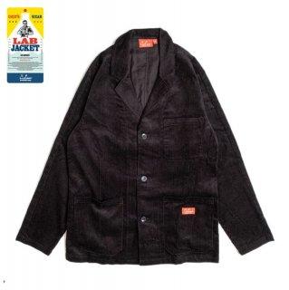【COOKMAN】 Lab.Jacket 「Corduroy」 Black