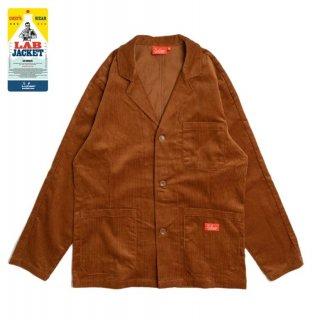 【COOKMAN】 Lab.Jacket 「Corduroy」 Brown