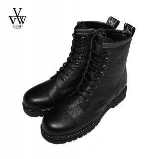 【VIRGO】 8HOLE MILITARIA BOOTS (Black)