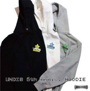 【undiscovered】UNDIS 6th Anniv. HOODIE