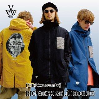 【VIRGO】 BIG NECK SELL HOODIE