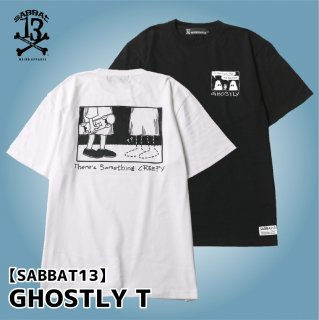 <img class='new_mark_img1' src='https://img.shop-pro.jp/img/new/icons1.gif' style='border:none;display:inline;margin:0px;padding:0px;width:auto;' />【SABBAT13】 GHOSTLY T