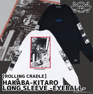 <img class='new_mark_img1' src='https://img.shop-pro.jp/img/new/icons1.gif' style='border:none;display:inline;margin:0px;padding:0px;width:auto;' />【ROLLING CRADLE】HAKABA-KITARO LONG SLEEVE -EYEBALL-