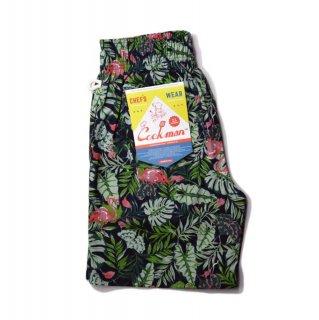 【COOKMAN】 Chef Pants Short Tropical