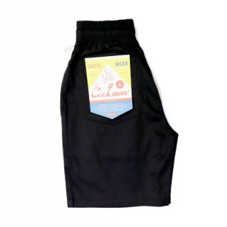 <img class='new_mark_img1' src='https://img.shop-pro.jp/img/new/icons1.gif' style='border:none;display:inline;margin:0px;padding:0px;width:auto;' />【COOKMAN】 Chef Pants Short Black
