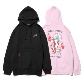 <img class='new_mark_img1' src='https://img.shop-pro.jp/img/new/icons1.gif' style='border:none;display:inline;margin:0px;padding:0px;width:auto;' />【SABBAT13】 13 TALED FOX HOODIE