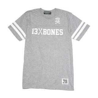 <img class='new_mark_img1' src='//img.shop-pro.jp/img/new/icons35.gif' style='border:none;display:inline;margin:0px;padding:0px;width:auto;' />【SABBAT13】13&BONES FOOTBALL T (GRAY) ※会員価格あり!