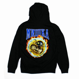 <img class='new_mark_img1' src='//img.shop-pro.jp/img/new/icons35.gif' style='border:none;display:inline;margin:0px;padding:0px;width:auto;' />【MISHKA】FAST BALL KEEP WATCH HOODIE(BLACK) ※会員価格あり!