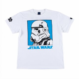 <img class='new_mark_img1' src='//img.shop-pro.jp/img/new/icons35.gif' style='border:none;display:inline;margin:0px;padding:0px;width:auto;' />【ROLLING CRADLE】Storm trooper T-shirt [White] ※会員価格あり!