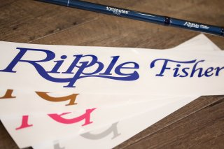 Ripple Fisher / Ripple Sticker 30
