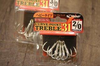 Shaut Curve Point Treble 31 / シャウト カーブポイント トレブル31