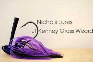 Nichols Lures JT Kenney Grass Wizard / ニコルズルアーズ JTケニー グラスウィザードジグ