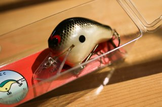 WEC Custom Lures E-1 Pearl Black Back Mesh / WECカスタムルアーズ E-1