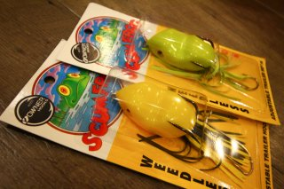 <img class='new_mark_img1' src='https://img.shop-pro.jp/img/new/icons16.gif' style='border:none;display:inline;margin:0px;padding:0px;width:auto;' />Southern Lures Scum Frog Junior / サウザンルアーズ スカムフロッグジュニア