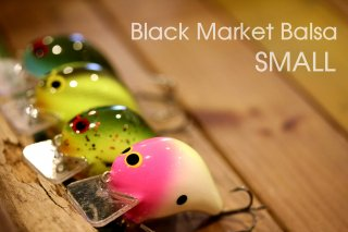 Dave's Custom Baits / Black Market Balsa Small