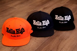 Double Shot / Hella High Snapback Cap