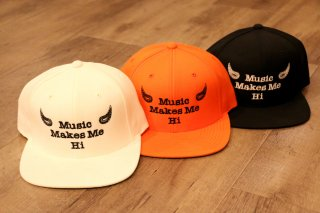 Double Shot/ Music Makes Me Hi Snapback Cap