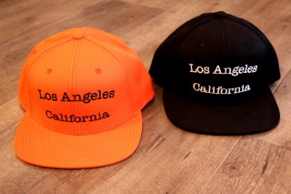 Double Shot/ Los Angeles California Snapback Cap