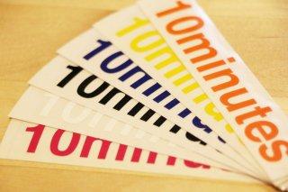 10minutes / Original Rogo Sticker #Small