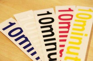 10minutes / Original Rogo Sticker #Medium