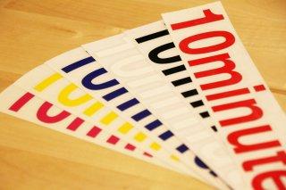 10minutes / Original Rogo Sticker #Large