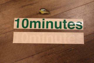 10minutes /Original Rogo Sticker #X-large