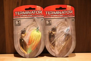 Terminator Lures /Super Stainless Spinerbait 1/4oz