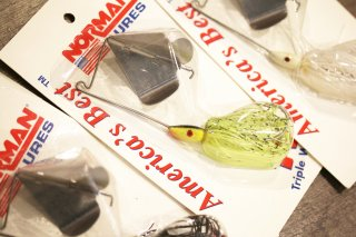Norman Lures / Triple Wing Buzz 3/8oz