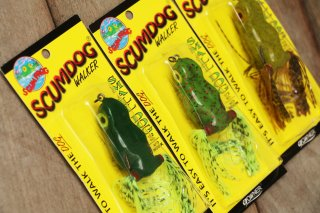 <img class='new_mark_img1' src='https://img.shop-pro.jp/img/new/icons16.gif' style='border:none;display:inline;margin:0px;padding:0px;width:auto;' />Southern Lure Scum Frog Scumdog Walker Small Dog / サウザンルアーズ スカムドック スモールドッグ