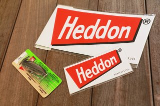 Heddon / Red Flag Sticker