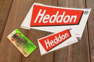 Heddon Red Flag Sticker / ヘドン レッドフラッグステッカー