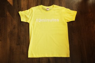 10minutes / Logo Tee 【Yellow White】