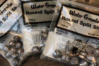 Water Gremlin Round Split Shot / ウォーターグレムリン ラウンドスプリットショット