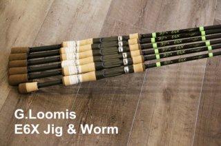 G.Loomis E6X Casting Jig & Worm / ジールーミス イーシックスエックス キャスティング ジグアンドワーム