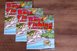 Outdoor youth Adventures / The Bass Fishing Coloring Book