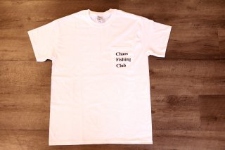 ChaosFishing Club / CFC Pocket Tee 【White】