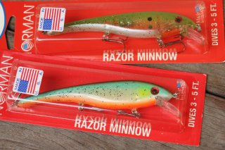 Norman Lures / Razor Minnow