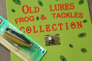 Old Lures Frog & Tackles Collection