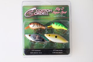 Cotton Cordell  / Big-O Super Spot Classic 4Pack