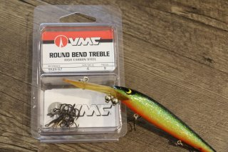 VMC 9649 Bronze Treble Hooks / VMCフック 9649ブロンズトレブルフック
