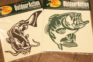 Bass Pro Shops / Outdoor Action Decals