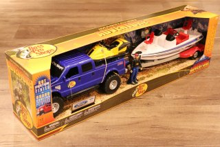 Bass Pro Shops / Deluxe Ford F-250 And Nitro Bass Boat Fishing Adventure Play Set