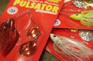 Nichols Lures / Pulsator Double Colorado Spinner Bait