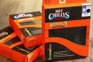 Hot Chillys / Men mec Solid Zip-T