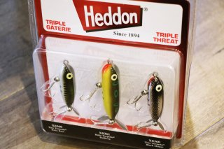 Heddon / Torpedo Triple Threat