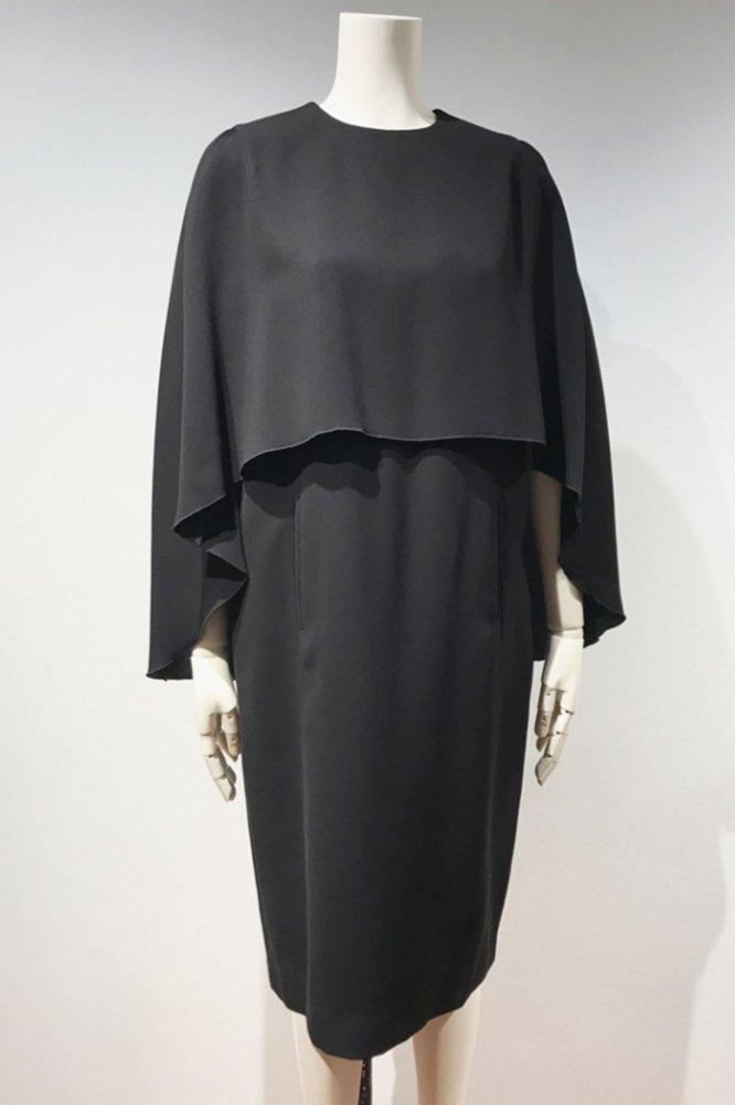 GERGETTE SHAWL DRESS