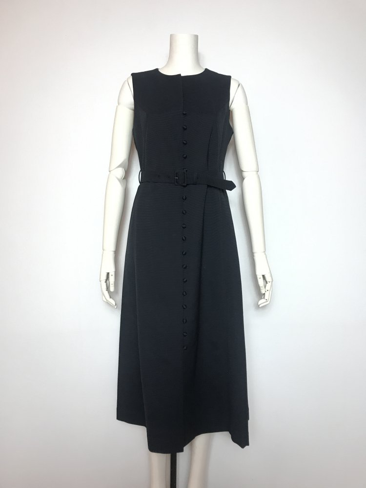 <img class='new_mark_img1' src='https://img.shop-pro.jp/img/new/icons20.gif' style='border:none;display:inline;margin:0px;padding:0px;width:auto;' />50%OFF GROSGRAIN F/BUTTON BELTED DRESS