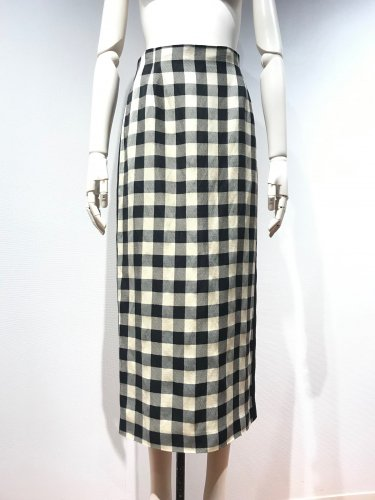<img class='new_mark_img1' src='https://img.shop-pro.jp/img/new/icons20.gif' style='border:none;display:inline;margin:0px;padding:0px;width:auto;' />60%OFF GINGHAM CHECK BACK/BUTTON SKIRT