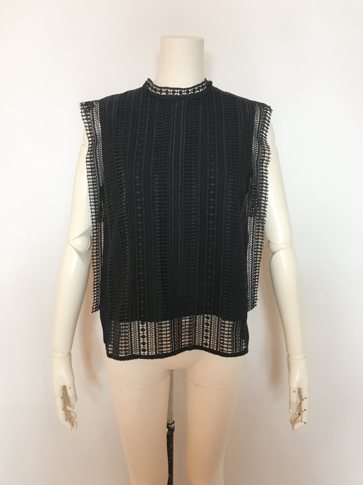<img class='new_mark_img1' src='https://img.shop-pro.jp/img/new/icons20.gif' style='border:none;display:inline;margin:0px;padding:0px;width:auto;' />50%OFF CHEMICAL-LACE NS TOPS