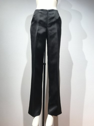 【LAST ONE】 SATIN CENTER/P WIDE PANTS
